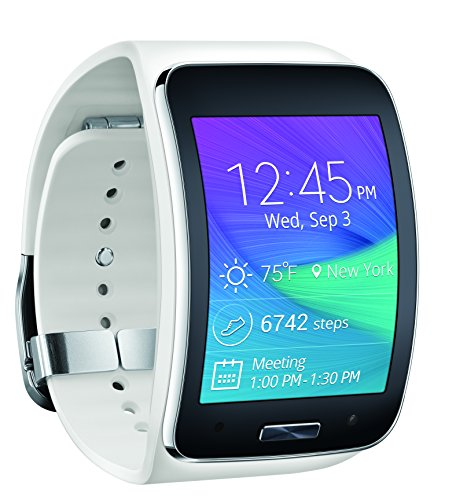 Samsung Gear S Smartwatch, White 4GB (Verizon Wireless)